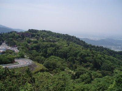 筑波山からの眺望3(風返峠)