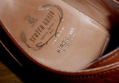 とっても良い靴です@SCOTCH GRAIN