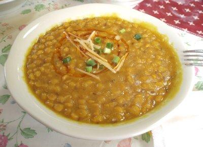 インド豆のカレー@ラジュ・モハン