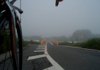 真っ白な樋詰橋