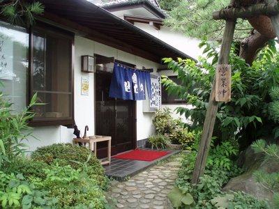 お気に入りの蕎麦屋@ごうど(小川町)