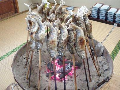 おいしそうな田舎料理1@保栄館(新潟大湯温泉)