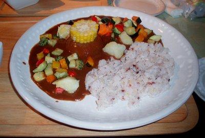 夏野菜カレー@Cafe ROOT