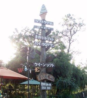 ソフトクリームの木