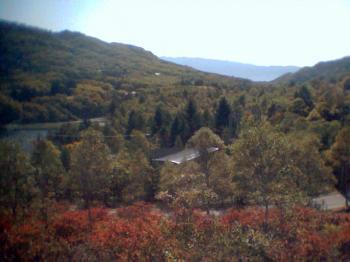 紅葉の高原1001