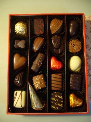 CORNE  Chocolat