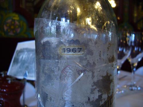 貴重なワイン