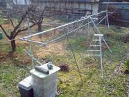 ブドウ棚の強化H200313