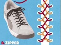 これはおしゃれ、15の靴ひもの結び方