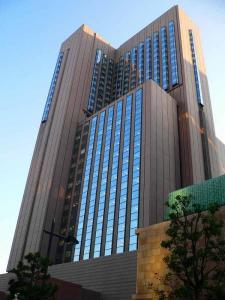 写真キャプション=会社説明会が開催された帝国ホテル東京のタワー館
