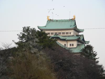 写真キャプション=名古屋で開催されたセミナーの取材時に撮影した名古屋城