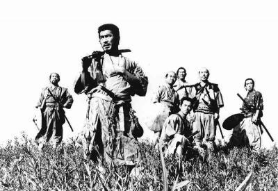 """佐渡屋名作コレクションのひとつ!故黒澤明監督の名作""""七人の侍(1954年:日本)"""""""