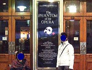 オペラ座の怪人・ロンドン