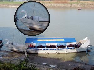 ノディパークにあるスワンボート