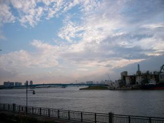 a view of Toyosu