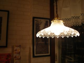 light in shop