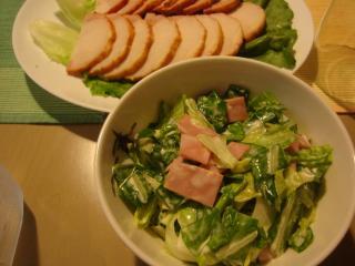 キャベツのサラダ