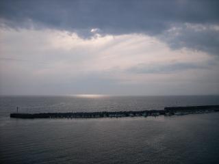 太平洋(沼津港から)