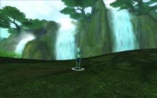 水鬼の沼地・滝