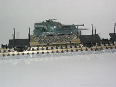 チキ7000形+61式戦車