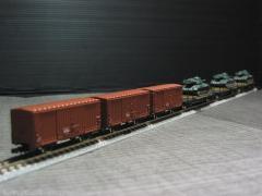 戦車輸送列車B