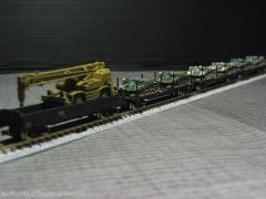 戦車輸送列車D