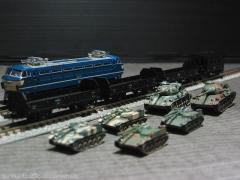 戦車輸送列車E