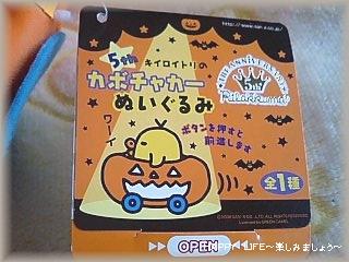 5thキイロイトリのかぼちゃカーぬいぐるみ-2