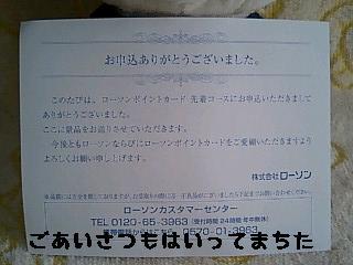 ちこちゃん日記11★ローソンのポイント★-6