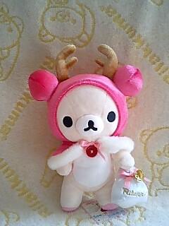 2008年クリスマス限定ぬい★コリラックマ★-2