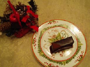 カーヴァンサンのチョコケーキ