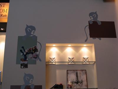猿カフェ店内②3.12
