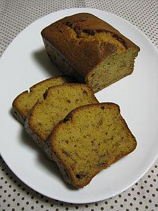 カラメルバナナケーキ