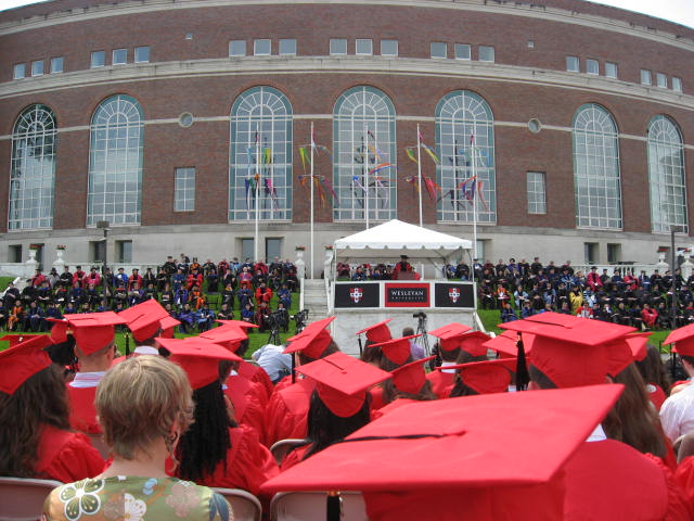 commencement President Roth