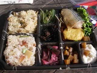 鯖の西京味噌焼き弁当