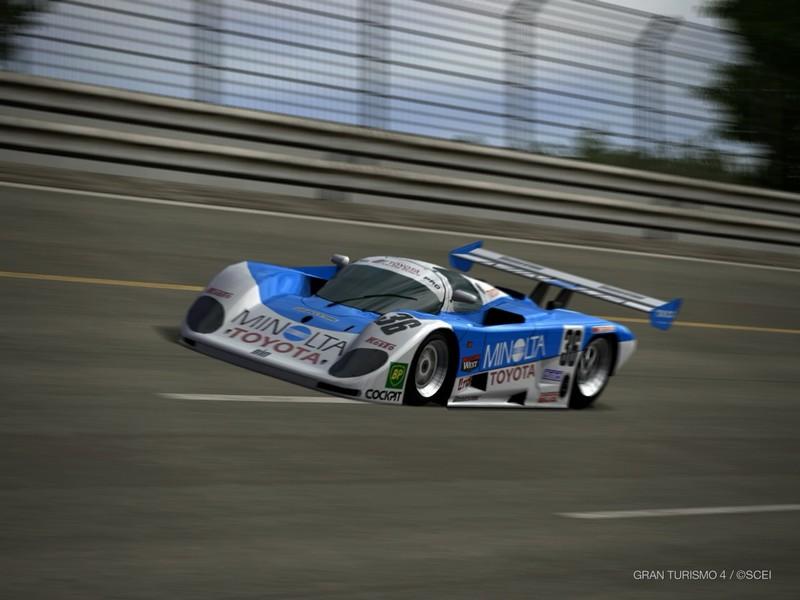 ミノルタ トヨタ 88C-V レースカー '89