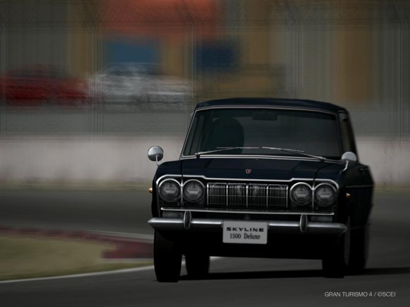 プリンス スカイライン 1500デラックス(S50D-1) '63
