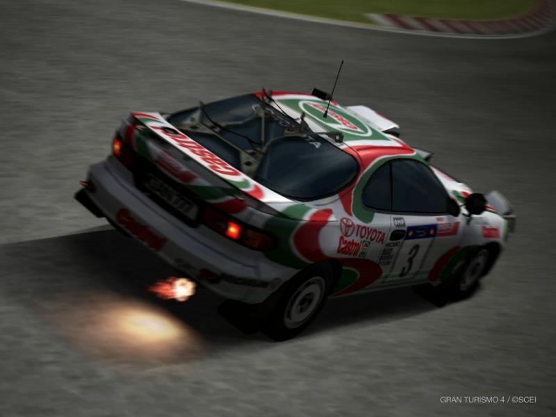トヨタ セリカ GT-FOUR ラリーカー(ST185) '94
