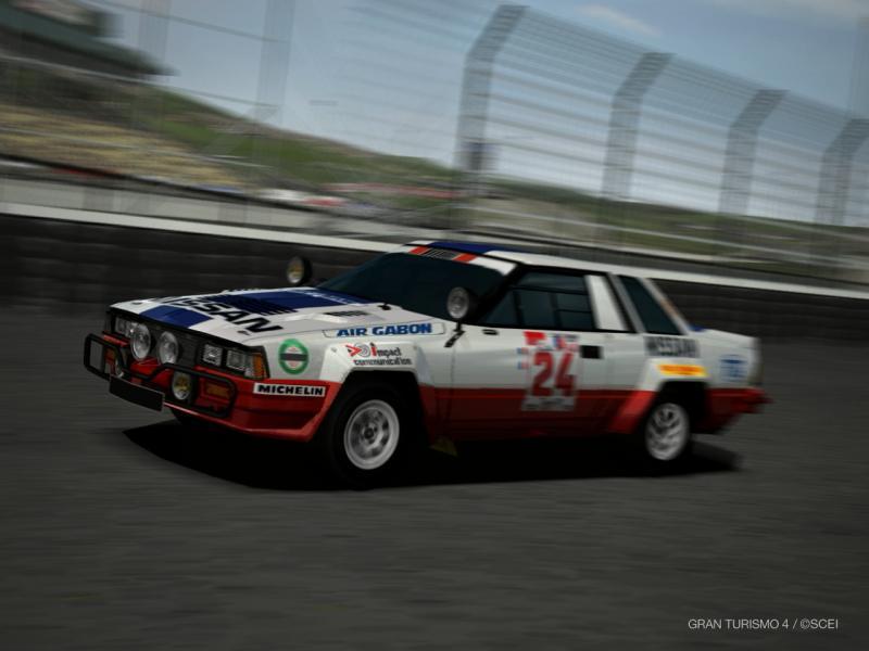日産 240RS ラリーカー '85
