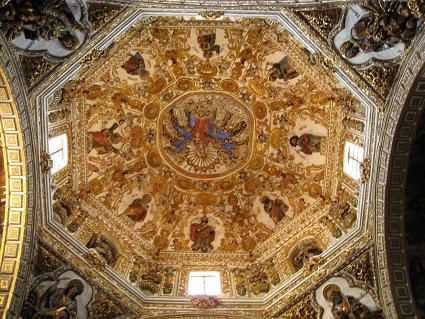 サントドミンゴ教会 天井