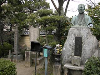 壬生寺:近藤勇銅像