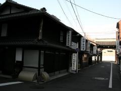 西本願寺前、参道