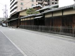 伏見奉行所跡から寺田屋への途中1