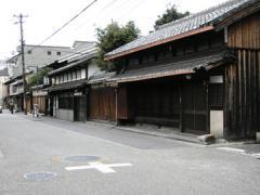 伏見奉行所跡から寺田屋への途中2