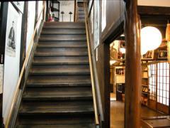 寺田屋階段、正面