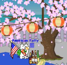 American Fatty / Original 4koma Author:Hentai Neko [変態ねこ']