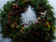 クリスマスリース02