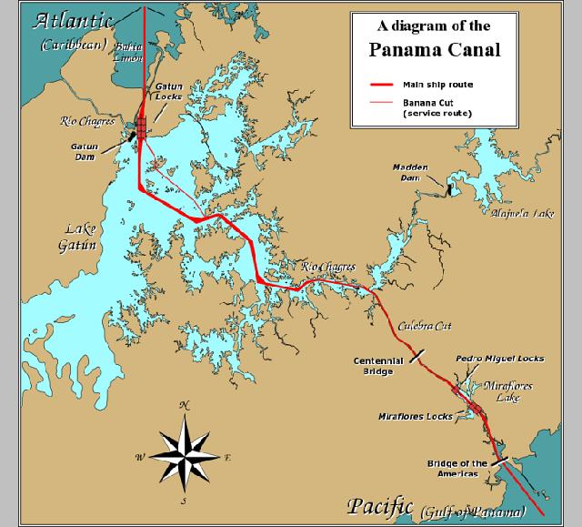 パナマ地図d