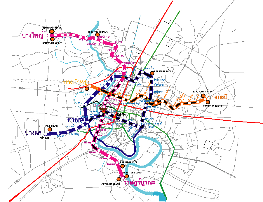 バンコク地下鉄網その後の様子|【タイ・バンコク近郊 こだわりブログ ...