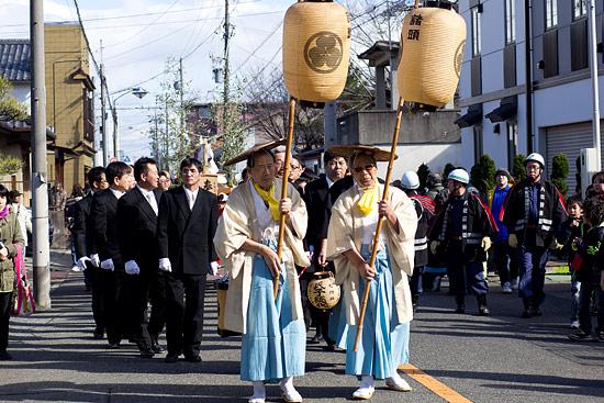 きねこさ祭古式行列